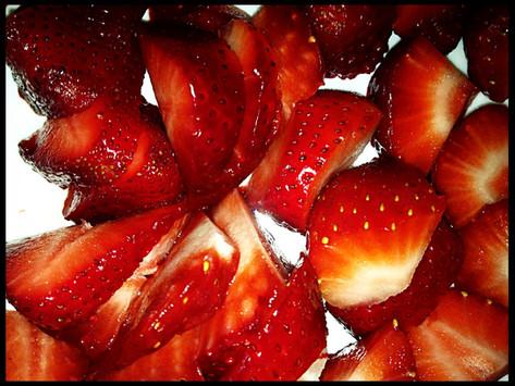 Greek Yogurt Strawberry Breakfast Bowl.