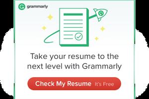 Grammarly ad