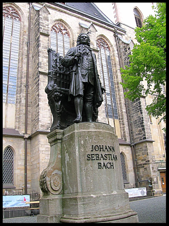 Statue of Johann Sebastian Bach, Leipzig