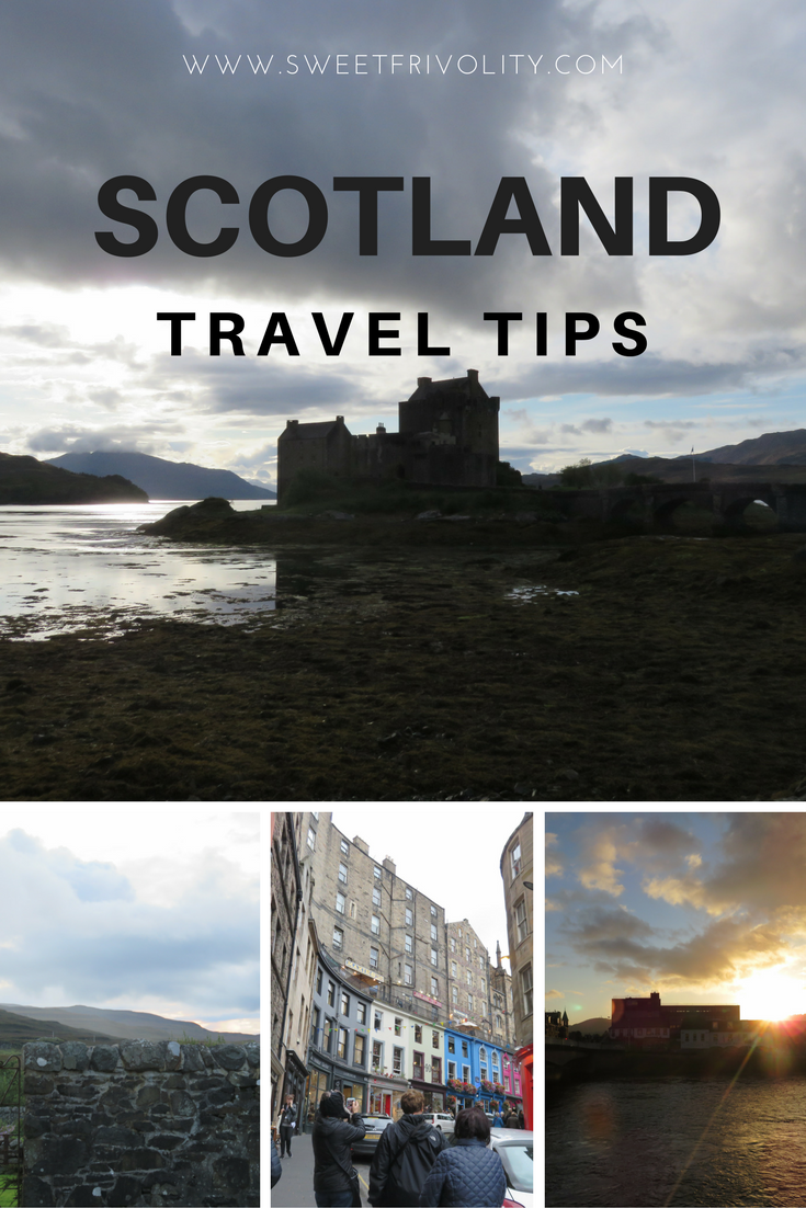 Scotland Travel Tips Pinterest Graphic
