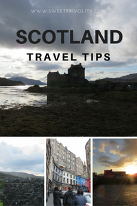 Scotland Travel Tips Pinterest Graphic