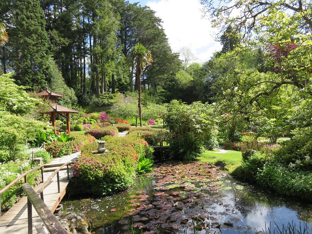 Powerscourt Estate Gardens, County Wicklow,Ireland