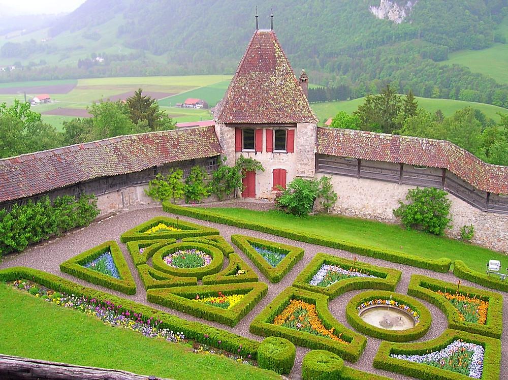 Gardens, Switzerland