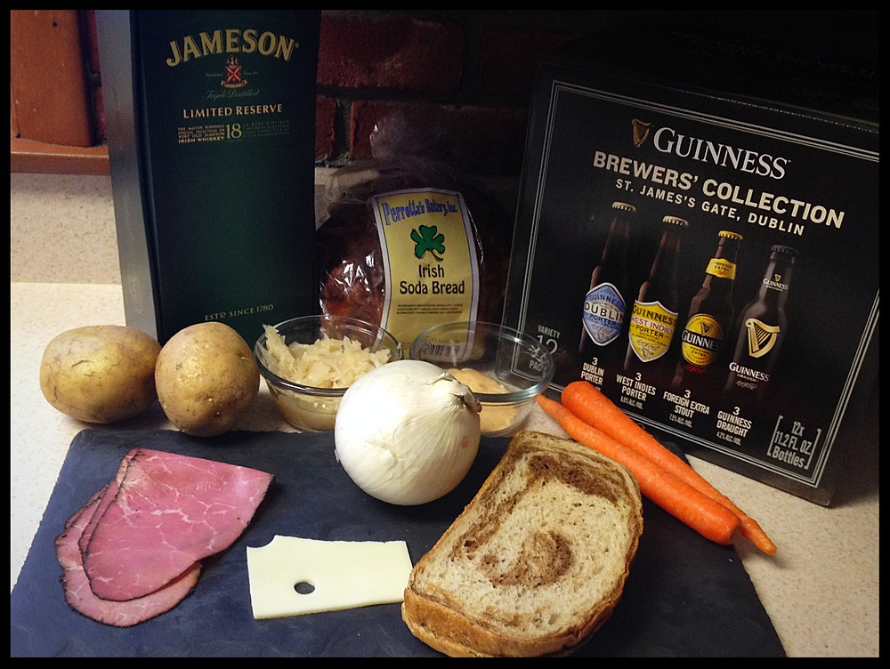 Irish dinner ingredients