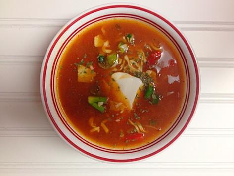 Healthy Tortilla Soup Recipe.
