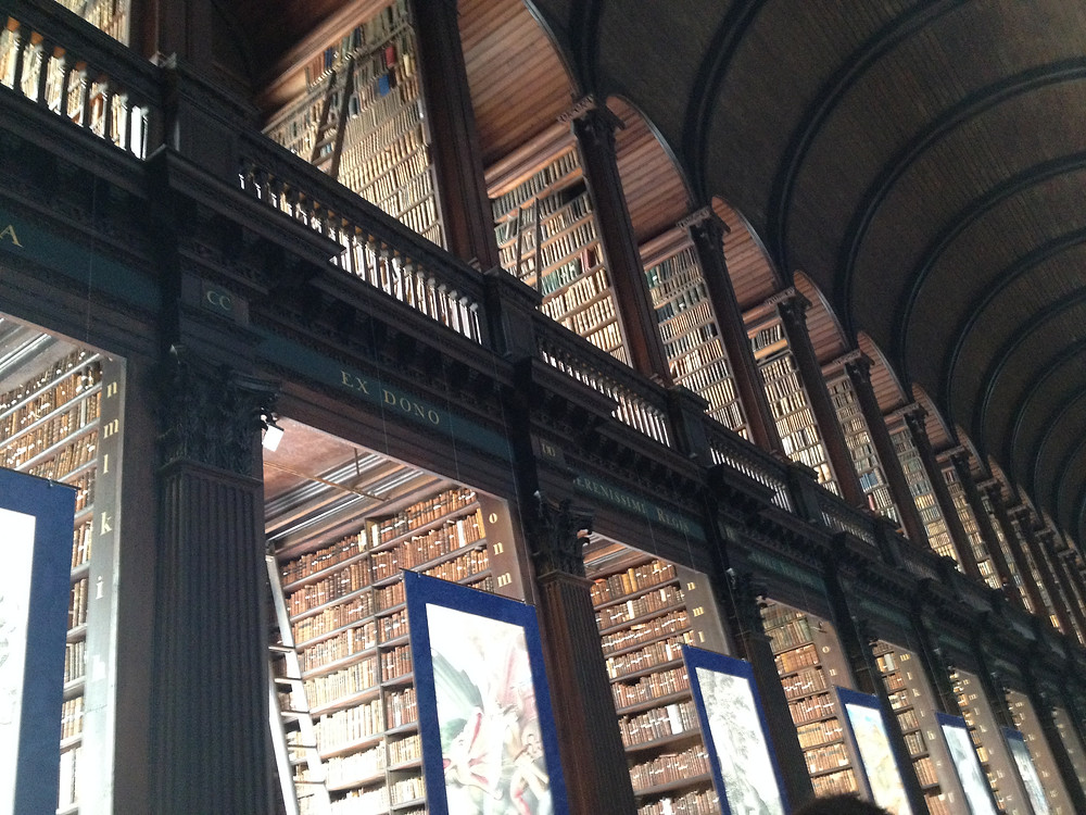 Long Room, Trinity College Library, Dublin, Ireland
