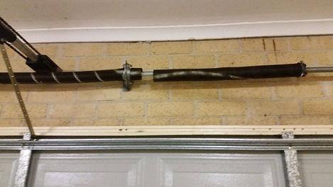 spring garage door parts