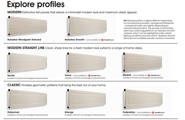 B&D Profiles