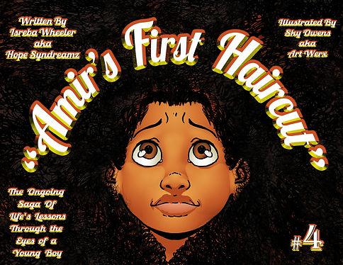 AMIR'S FIRST HAIRCUT COVER MODIFIED Apri