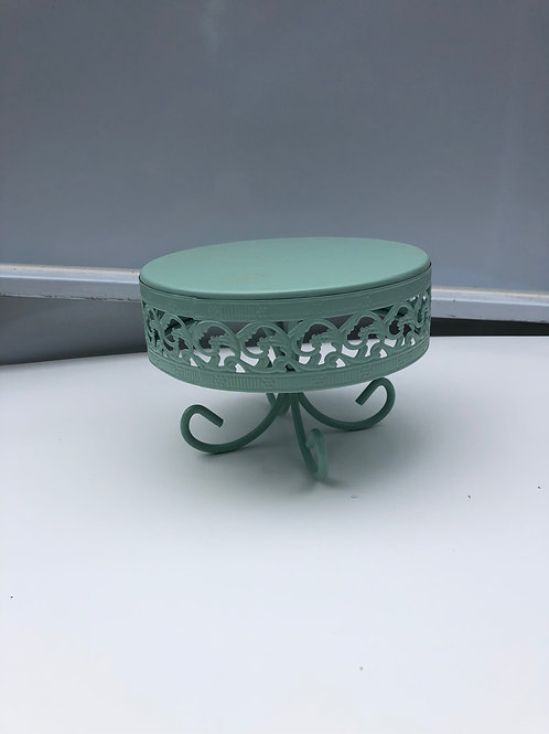 Cake Stand -Teal - Small