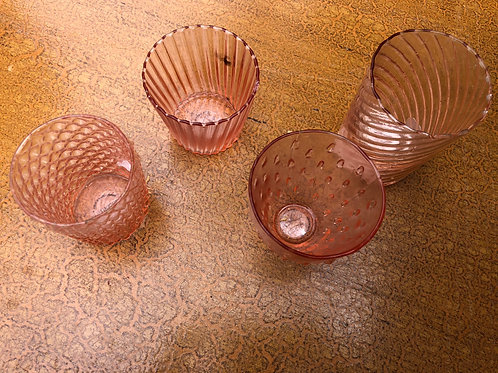 Votive - Blush Glass