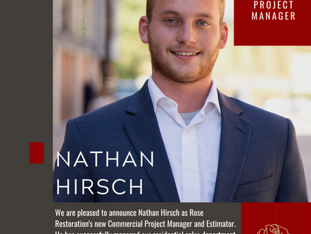 Welcome our New Commercial Project Manager and Estimator