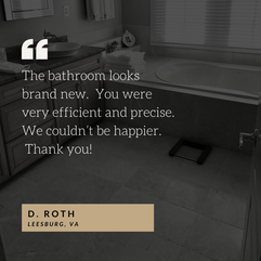 Marble Bathroom Restoration Testimonial