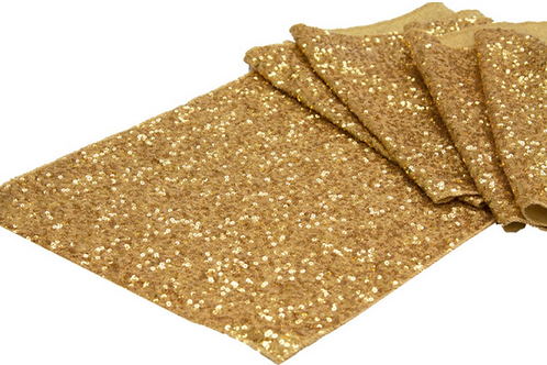 Gold Sequin - Table Runner