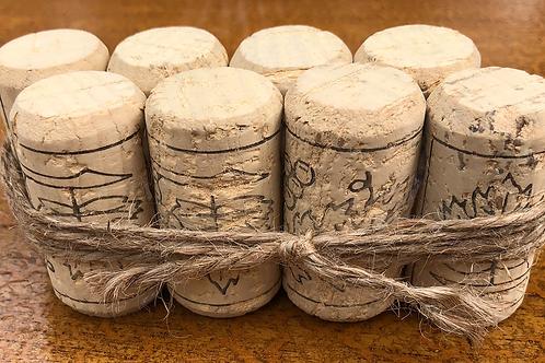 Table Number Holder - Wine Corks