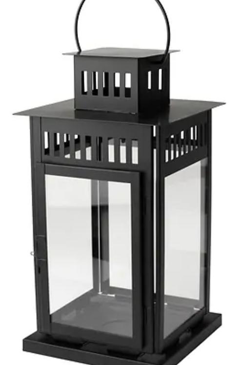 Lantern -Vintage Black (tall)