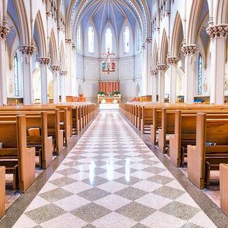 church terrazzo