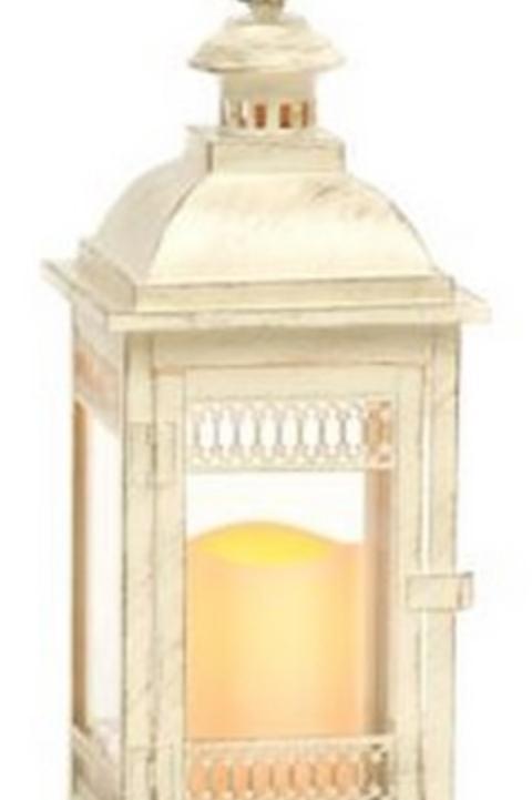 Lantern - Ivory Distressed