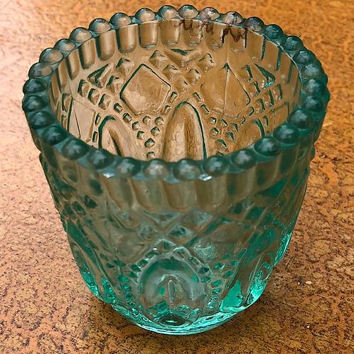 Votive - Turquoise Glass