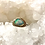 Thumbnail: Australian Boulder Opal Mixed Metal Ring