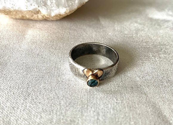 Montana Sapphire Gemstone Ring