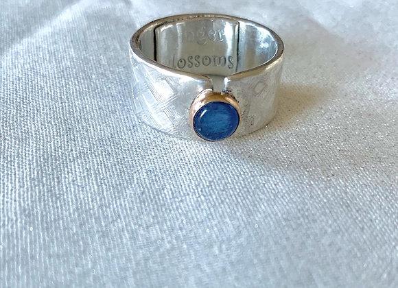Bold Kyanite Gemstone Ring