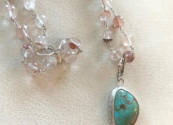 Arizona Kingman Turquoise Necklace