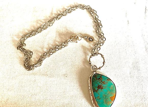 Kingman Turquoise Gemstone Necklace