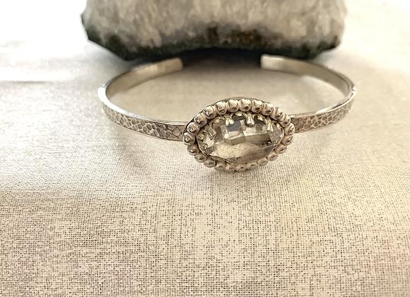 Herkimer diamond Cuff