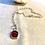 Thumbnail: Watermelon Tourmaline Slice Necklace