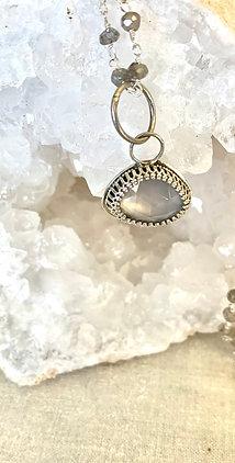 Chalcedony & Labradorite Necklace