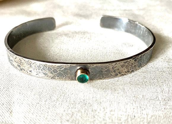 Emerald Cuff Bracelet