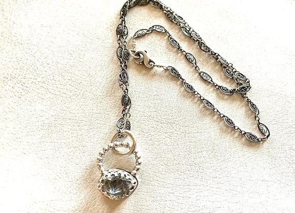 Herkimer Diamond Necklace for Sharon