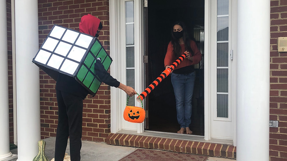 Socially Distant Candy Delivery Chute