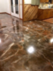 metalic marble
