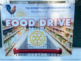 Ridgewood AM Rotary Food Drive