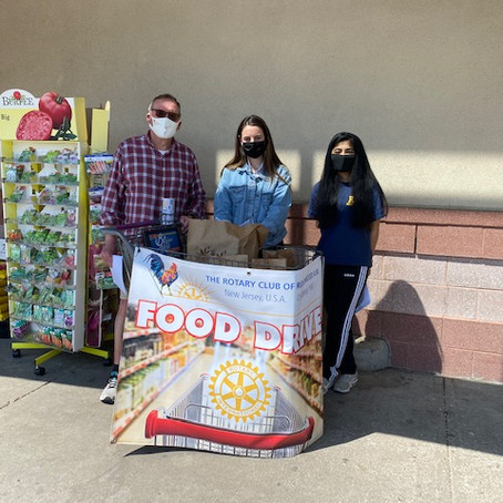 Food Collection on  April 24th.