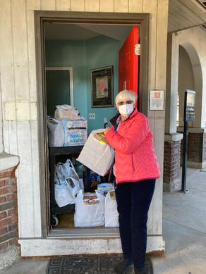Food Contributions to SSA of Ridgewood Food Pantry
