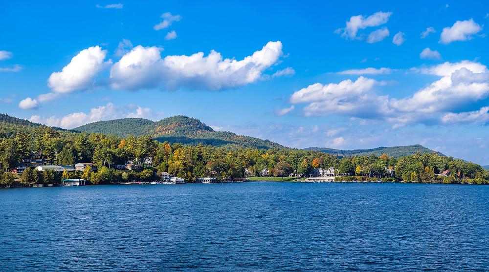 Lake George upstate New York