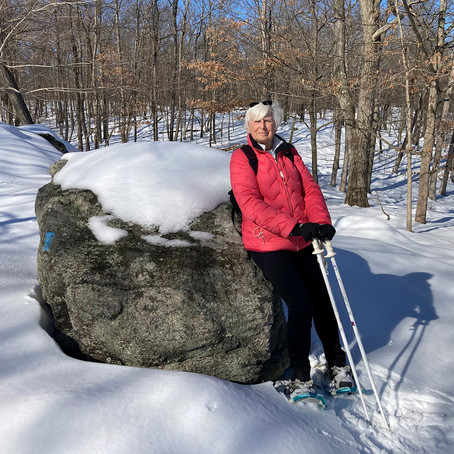 Betty Wiest at Harriman State Park