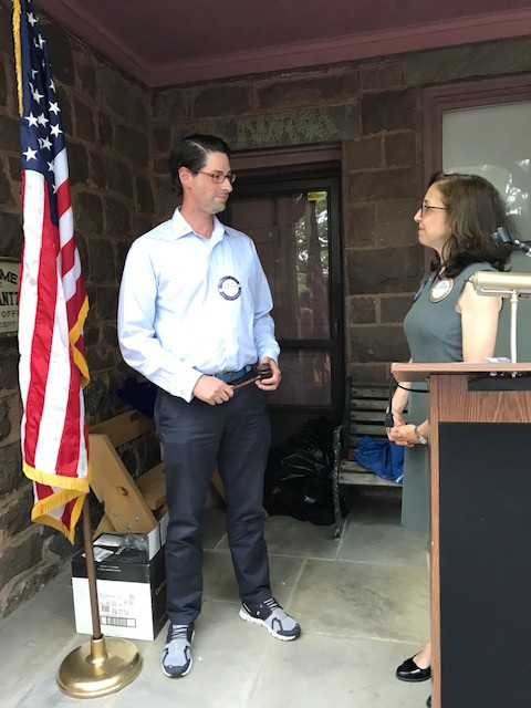 The Rotary Club of Ridgewood AM welcomed its new President Jordan Kaufman as its 2021-2022 President.