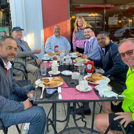 235 Days since The Rotary Club of Ridgewood met in person…but who is counting!
