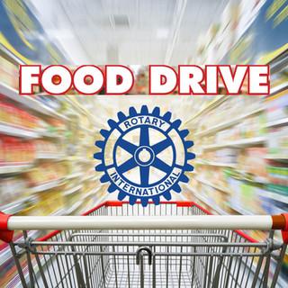Rotary Food Drive