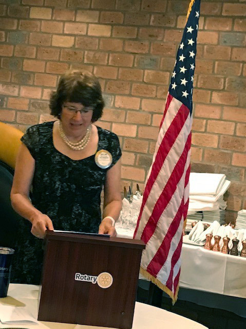 Mary Ann Coop Ridgwood AM Rotary member