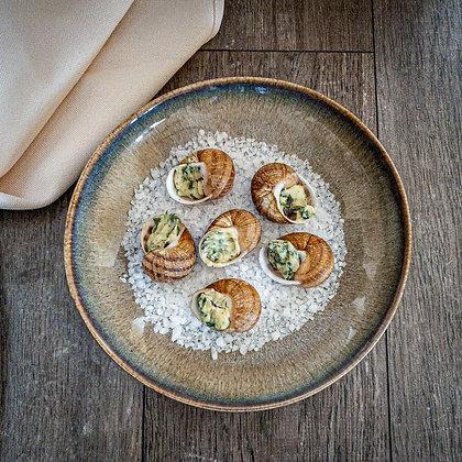 Burgundy snails - 6pc.