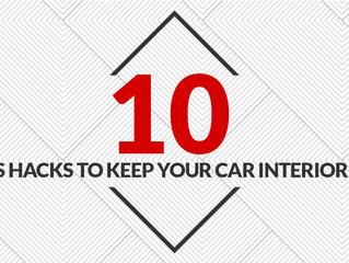 10 Genius Hacks to Keep your Car Interior Clean