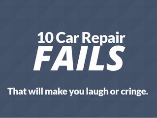 10 Car Repair Fails That Will Make You Laugh (or Cringe)