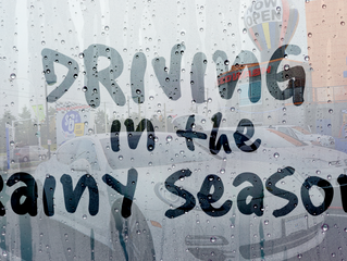 SpeedWash's Top Ten Rainy Day Driving Tips