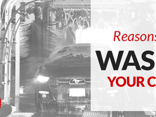 8 Reasons to Wash Your Car