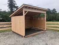 12 x 10 Livestock Shelter.No3. 20190516.